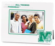 With God All Things Are Possible Photo Frame  -