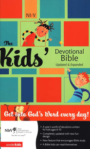 NIrV Kid's Devotional Bible, Updated & Expanded Hardcover - Slightly Imperfect  -