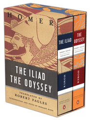 Homer: The Iliad And The Odyssey Box Set    -     Edited By: Robert Fagles     By: Homer, Bernard Knox