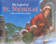 The Legend of St. Nicholas: A Christmas Story of Giving   -     By: Dandi Daley Mackall     Illustrated By: Guy Porfirio