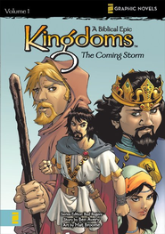 The Coming Storm, Volume 1, Z Graphic Novels / Kingdom: A Biblical Epic  -              By: N. Averdonz, Bud Rogers, Ben Avery