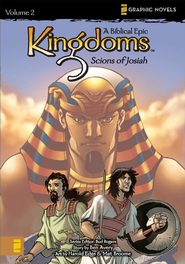 Scions of Josiah, Volume 2, Z Graphic Novels / Kingdoms: A Biblical Epic  -     By: N. Averdonz, Bud Rogers, Ben Avery