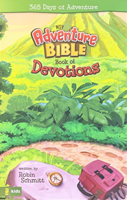 NIV Adventure Bible Book of Devotions: 365 Days of Adventure   -     By: Robin Schmitt