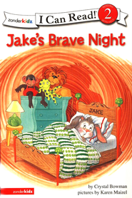 Jake's Brave Night, I Can Read! Level 2 (Reading with Help)   -     By: Crystal Bowman, Karen Maizel