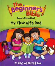 The Beginner's Bible Book of Devotions: My Time with God   -     By: Kelly Pulley