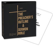 The Preacher's Outline & Sermon Bible: KJV Deluxe Joshua, (Volume 8) Ring Binder           -