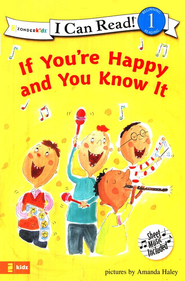 If You're Happy and You Know It, I Can Read! Song Series Level  1 (Beginning Reading)  -     By: Amanda Haley