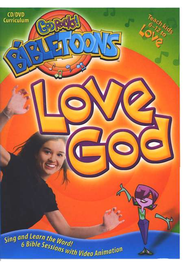 God Rocks! BibleToons: Love God, CD-ROM/DVD Curriculum   -