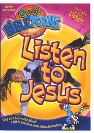 God Rocks! BibleToons: Listen to Jesus, CD-ROM/DVD Curriculum    -