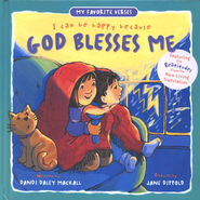 My Favorite Verses: I Can Be Happy Because God Blesses Me  (The Beatitudes)  -     By: Dandi Daley Mackall     Illustrated By: Jane Dippold