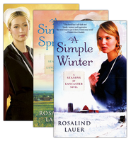 Seasons of Lancaster County Series, Vols 1-3   -              By: Rosalind Lauer