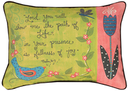 Lord You Will Show Me the Path Pillow  -              By: Annie LaPoint