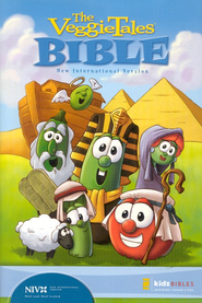 The VeggieTales Bible: A Full-Text NIV Bible  - Slightly Imperfect  -