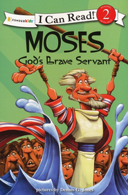 Moses, God's Brave Servant - Slightly Imperfect  -