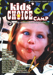 Kid's Choice Camp Curriculum CD-ROM   -