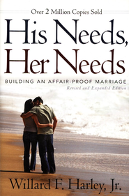 His Needs, Her Needs--Revised and Expanded  - Slightly Imperfect  -              By: Willard F. Harley