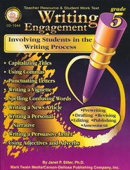 Writing Engagement: Involving Students in the Writing Process Grade 5  -     By: Janet Sitter