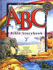 Egermeier's ABC Bible Story Book w/Audio CD  -     By: Elsie Egermeier