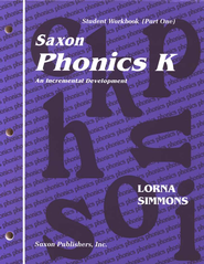 Saxon Phonics K, Student Workbooks   -