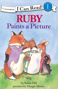 Ruby Paints a Picture  -     By: Susan Hill