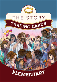 The Story Trading Card: For Elementary, Grades 3 and Up   -