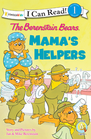 The Berenstain Bears Mama's Helpers - Slightly Imperfect  -
