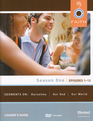 Faith Caf&#233 Season One: Episodes 1-13, Leader's Guide with DVD  -