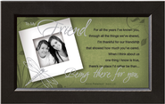 There For You, Friend Framed Print  -     By: Anne Peterson