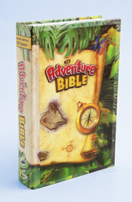 NIV Adventure Bible, Hardcover with 3D Design  -