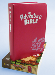 NIV Adventure Bible, Tropical Pink - Imperfectly Imprinted Bibles  -