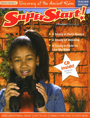 SuperStart! Discovery at the Ancient Ruins, Teacher Guide w/CD-Rom, Volume 1, Number 3  -