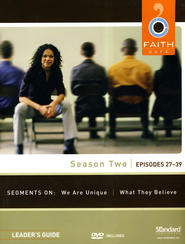 Faith Caf&#233 Season Two: Episodes 27-39, Leader's Guide with DVD  -