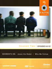 Faith Caf&#233 Season Two: Episodes 40-52, Leader's Guide with DVD  -