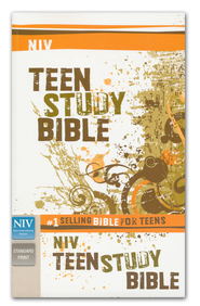 NIV Teen Study Bible, Softcover   -