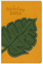 NIV Adventure Bible, Compact, Italian Duo-Tone, Leaf 1984  -