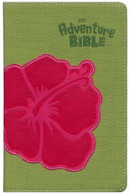 NIV Adventure Bible, Compact, Italian Duo-Tone, Flower 1984  -