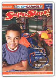 SuperStart! Go-Kart Garage, Teacher DVD, Volume 2, Number 1  -