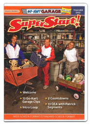 SuperStart! Go-Kart Garage Sale, Teacher DVD, Volume 2, Number 2  -
