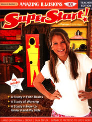 SuperStart! Amazing Illusions 101, Teacher Edition with CD-ROM, Volume 2, Number 3  -