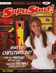 SuperStart! Amazing Illusions 101, Student Magazine, Volume 2, Number 3  -