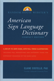 Webster's American Sign Language Dictionary, Compact Edition  -     By: Elaine Costello