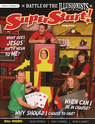 SuperStart! Battle of the Illusionists, Student Magazine, Volume 2, Number 4  -