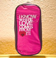 I Know Where Love Comes From Pencil Pouch  -