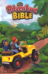 NIrV Adventure Bible for Early Readers, Lenticular: 3D Motion  -     By: Lawrence O. Richards