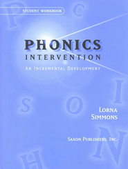 Saxon Phonics Intervention, Student Workbooks   -