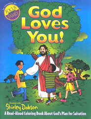 God Loves You! Coloring Book   -     By: Shirley Dobson