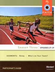 Faith Cafe Participant's Guide--Season Three: Episodes 27-39  -
