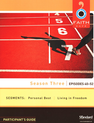 Faith Caf&#233 Leader's Guide with DVD - Season Three: Episodes 40-52  -