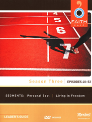 Faith Caf&#233 Participant's Guide - Season Three: Episodes 40-52  -