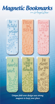 Be Faithful, Assorted Magnetic Bookmarks, Set of 6  -